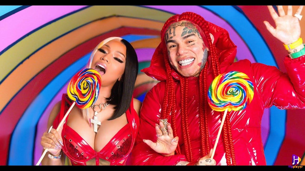 6ix 9ine ft Nicki Minaj Trollz mp3 download